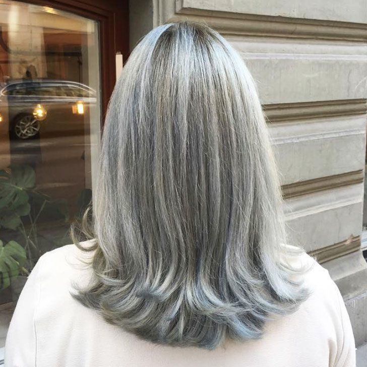 40 Best Hairstyles For Grey Hair That Make You Look 10